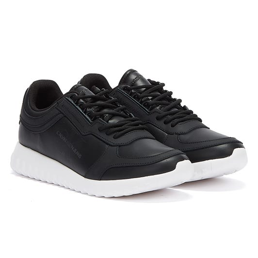 Calvin Klein Jeans Runner Lace Up Eva LTH Womens Black Trainers