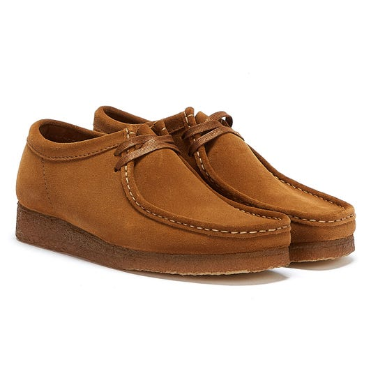 Clarks Wallabee Mens Cola Shoes