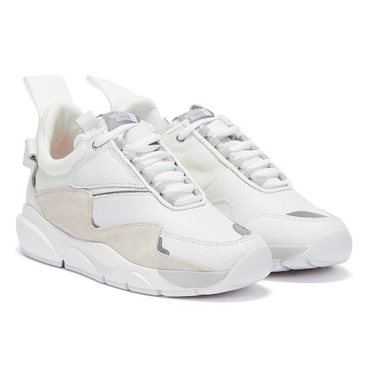 Clear Weather Aries Mens Illuminite White Trainers