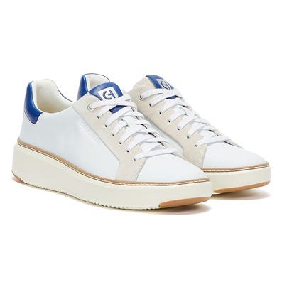 Cole Haan GrandPro Topspin Mens White / Pacific Blue Trainers