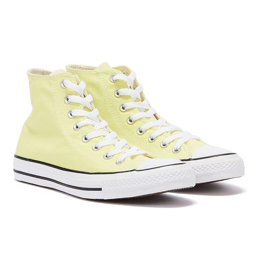 Converse Chuck Taylor All Star Light Zitron Yellow Hi Trainers