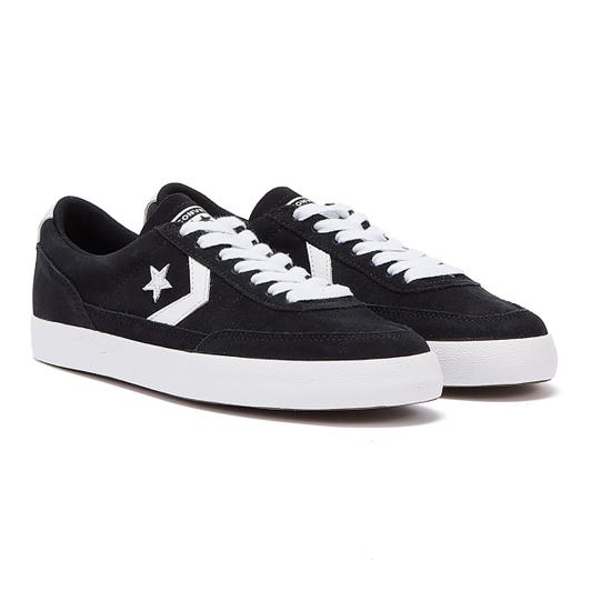 Converse Net Star Classic Suede Black / White Ox Mens Trainers