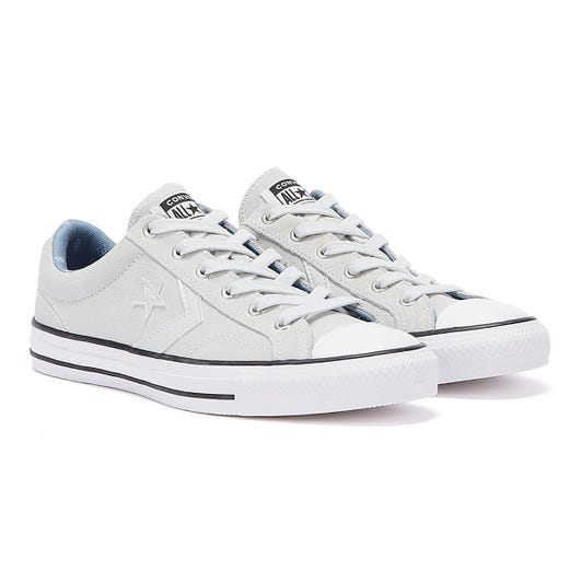 Converse Star Player Suede Ox Mens Photon Grey Trainers