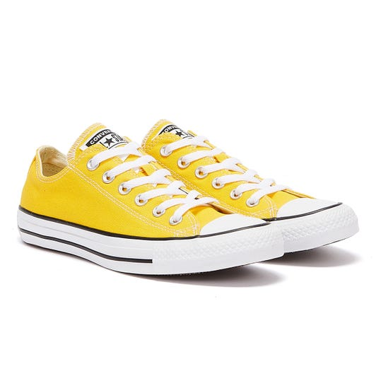 Converse All Star Ox Lemon Yellow Trainers