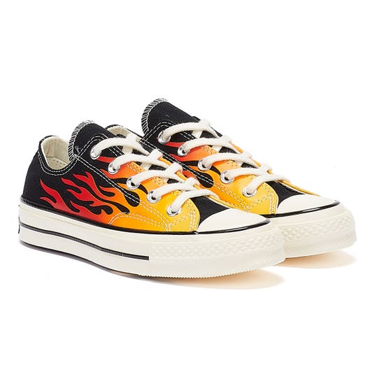 Converse Chuck 70 Archive Flame Ox Black / Red Trainers