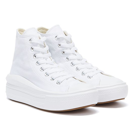 Converse Move Platform Hi Womens White Trainers