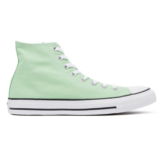 Converse Chuck Taylor All Star Light Green Hi Trainers