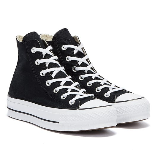 Converse All Star Lift Hi Womens Black / White Trainers
