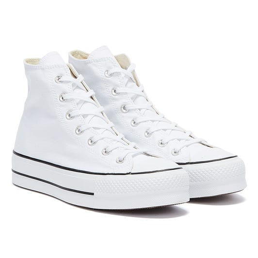Converse All Star Lift Hi Womens White Trainers