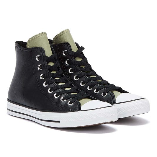 Converse All Star Digital Terrain Hi Mens Black / White / Olive Trainers
