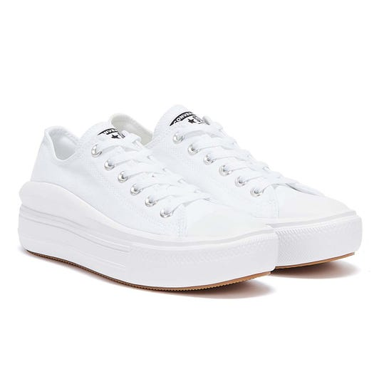 Converse Move Platform Ox Womens White Trainers