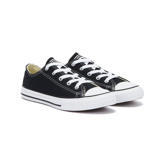 Converse All Star Ox Youth Black / White Trainers
