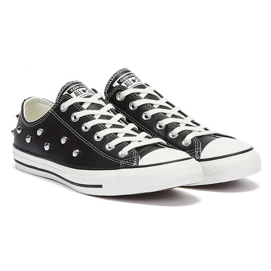 Converse All Star Punk Progress Studs Ox Womens Black / White Trainers