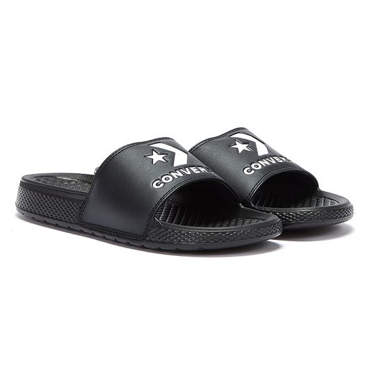 Converse All Star Slide Black / White Slides