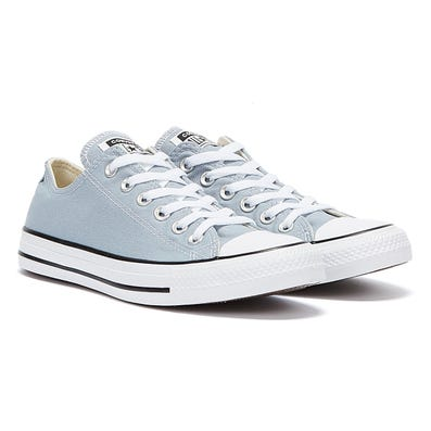 Converse All Star Ox Womens Blue-Grey Trainers