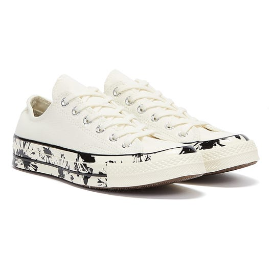 Converse Chuck 70 Low Top Womens Egret / Black Trainers