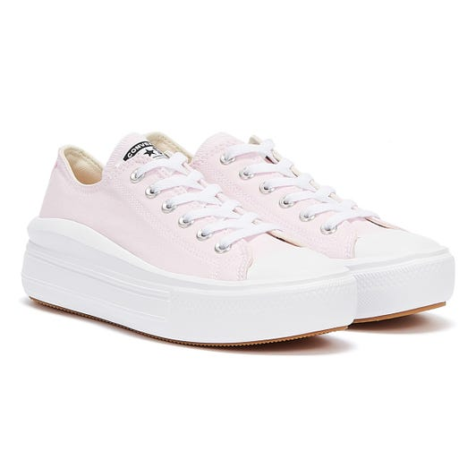 Converse Chuck Taylor All Star Low Womens White / Pink Foam Trainers