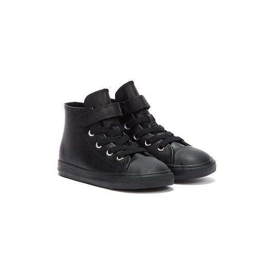 Converse Chuck Taylor All Stars Hi Top Toddler Black Trainers