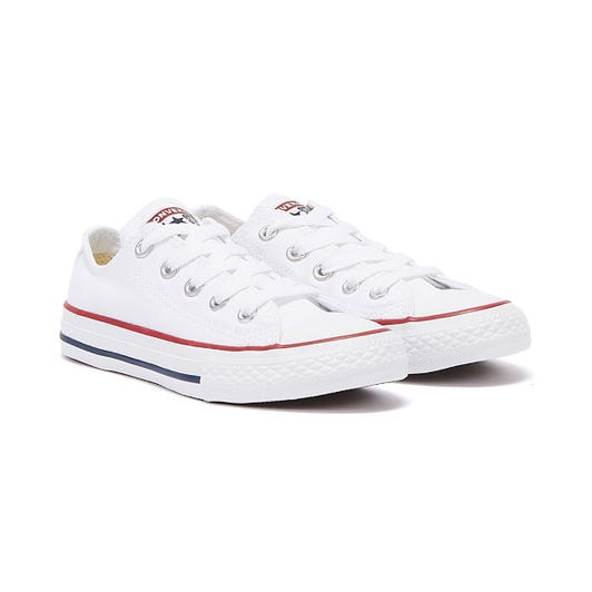 Converse Junior White All Star OX Trainers