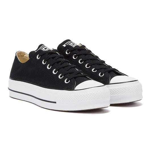 Converse Chuck Taylor All Star Lift Womens Black / White Ox Trainers