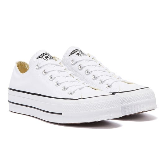 Converse Chuck Taylor All Star Lift Womens White Ox Trainers