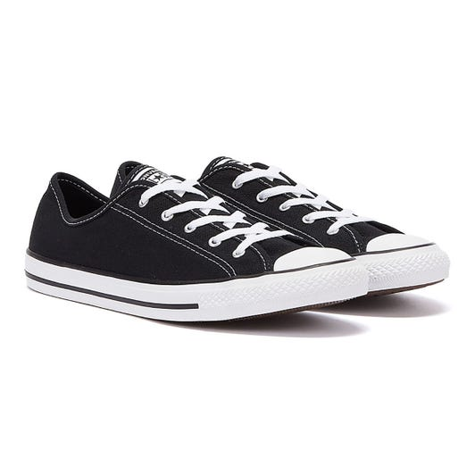 Converse Chuck Taylor All Star Dainty Womens Black Ox Trainers