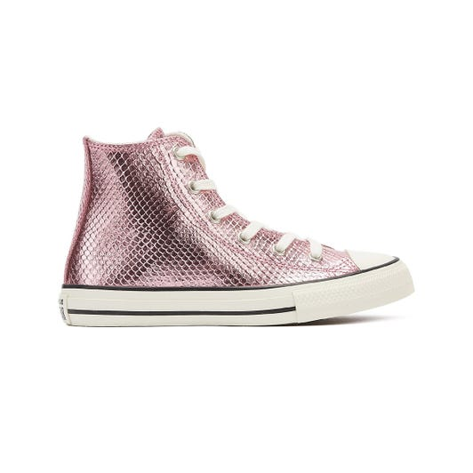 Converse Chuck Taylor All Star Youth Plum Purple Hi Trainers