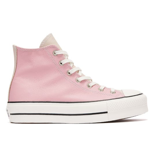 Converse All Star Lift Neutral Tones Hi Womens Pink / White Trainers