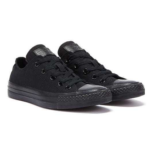 Converse Chuck Taylor All Star Low Black Canvas Trainers