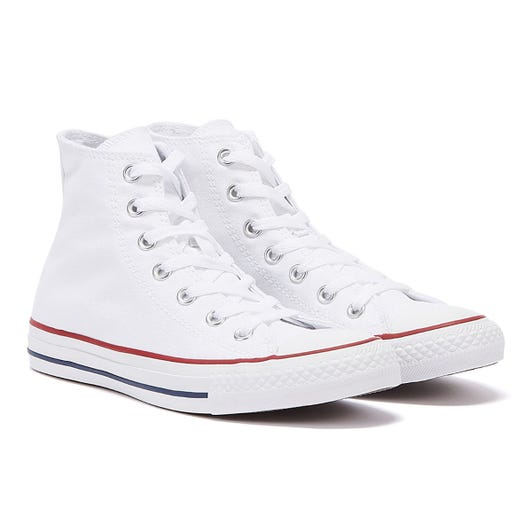 Converse All Star Hi Womens Optical White Canvas Trainers