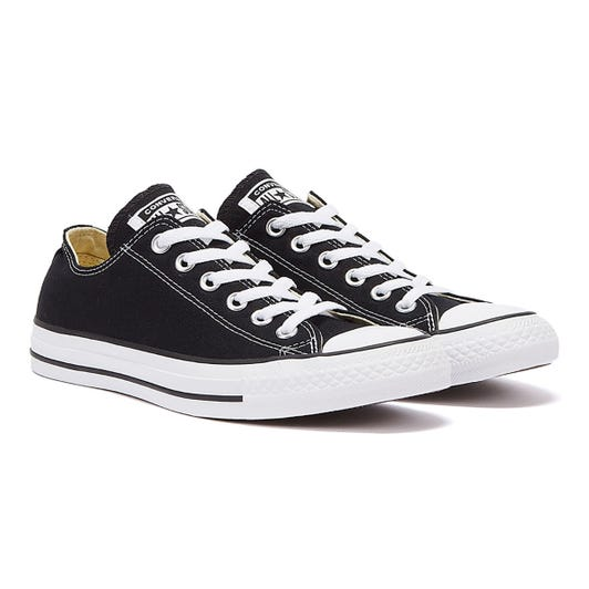 Converse All Star OX Womens Black Trainers