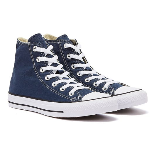 Converse All Star Hi Womens Navy Trainers