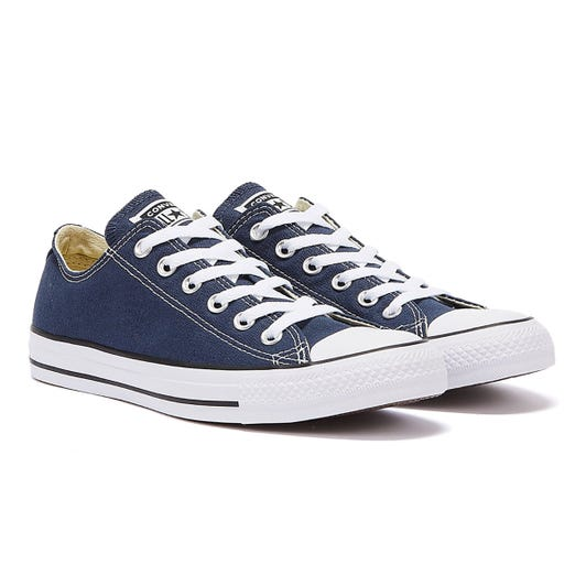 Converse CT Low Navy Blue Canvas Trainers