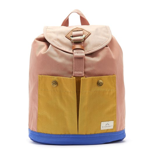 Doughnut Montana Mini Backpack Rose/Yellow