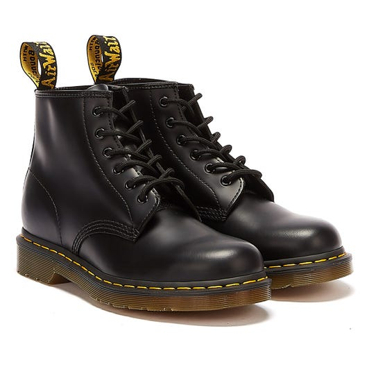 Dr. Martens 101 Smooth Leather Mens Black Boots
