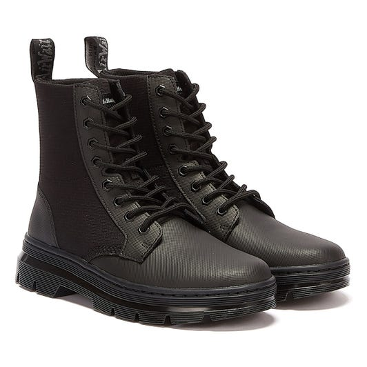 Dr. Martens Combs II Poly Element Womens Black Boots