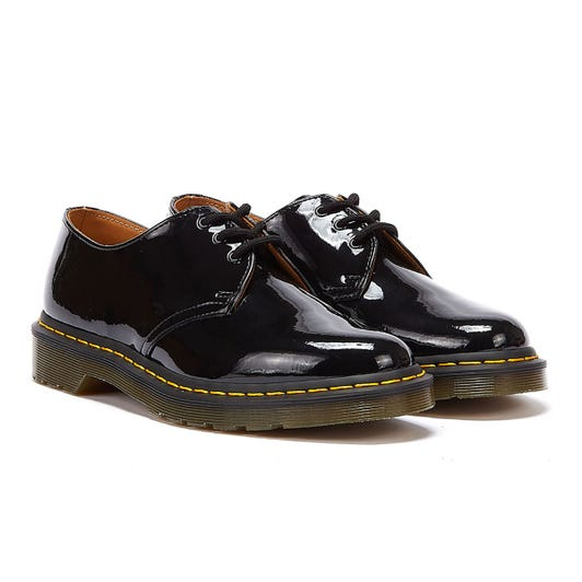 Dr. Martens 1461 Patent Lamper Womens Black Shoes