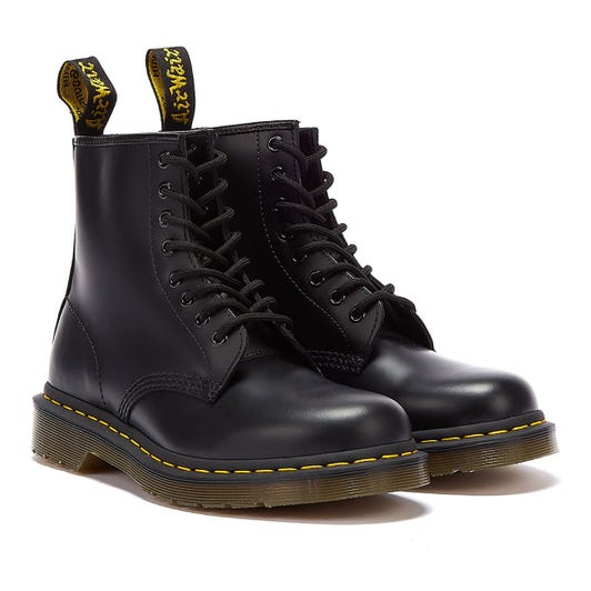 Dr. Martens 1460 Smooth Womens Black Leather Boots