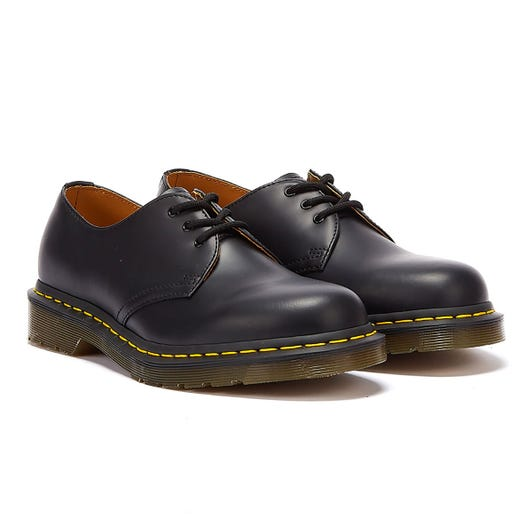 Dr. Martens Black 1461 Smooth Leather Shoes