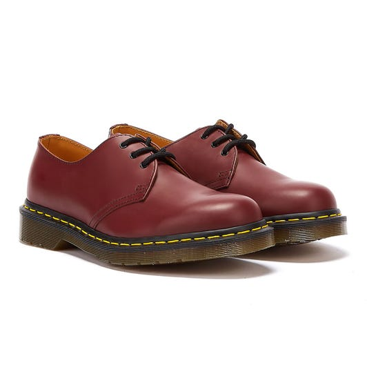 Dr. Martens 1461 Womens Cherry Red Shoes