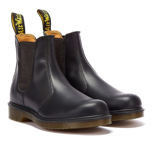 Dr. Martens Black 2976 Leather Chelsea Boots