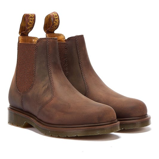 Dr. Martens 2976 Crazy Horse Womens Gaucho Brown Boots