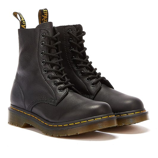 Dr. Martens 1460 Pascal Virginia Womens Black Leather Boots