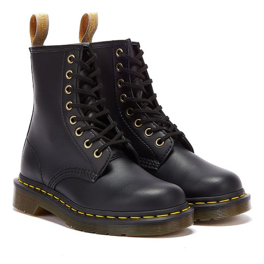 Dr. Martens 1460 Vegan Felix Rub Off Mens Black Boots