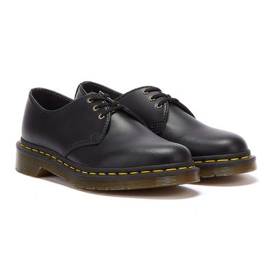 Dr. Martens 1461 Vegan Felix Rub Off Mens Black Shoes
