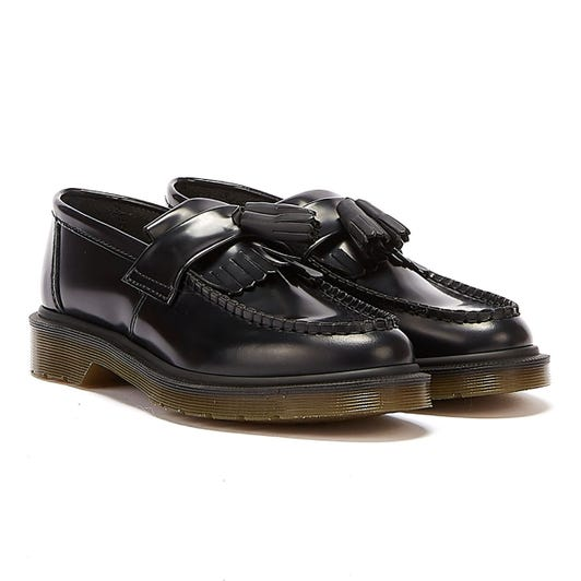 Dr. Martens Adrian Black Leather Loafers