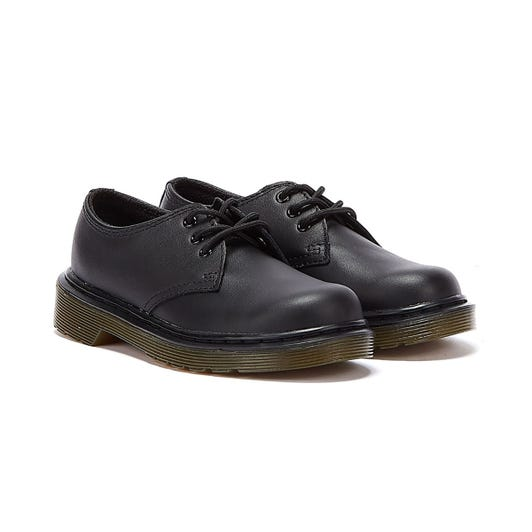 Dr. Martens 1461 Junior Black Leather Shoes