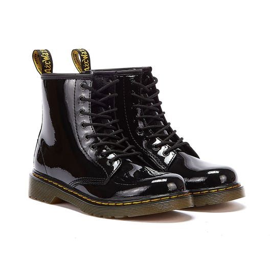 Dr. Martens 1460 Junior Black Patent Boots