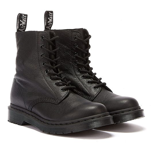 Dr. Martens 1460 Pascal Virginia Womens Mono Black Boots