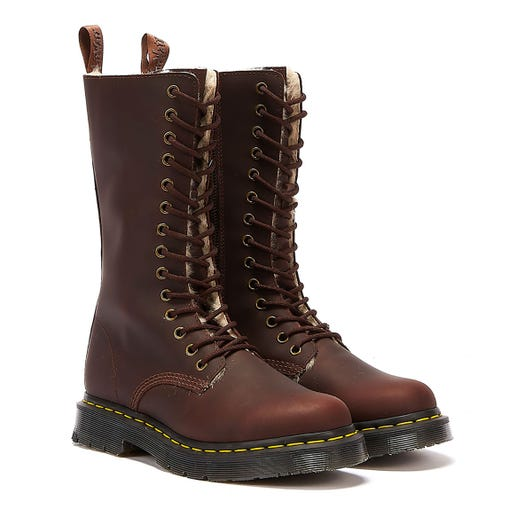 Dr. Martens 1914 Kolbert Snowplow Womens Brown Boots
